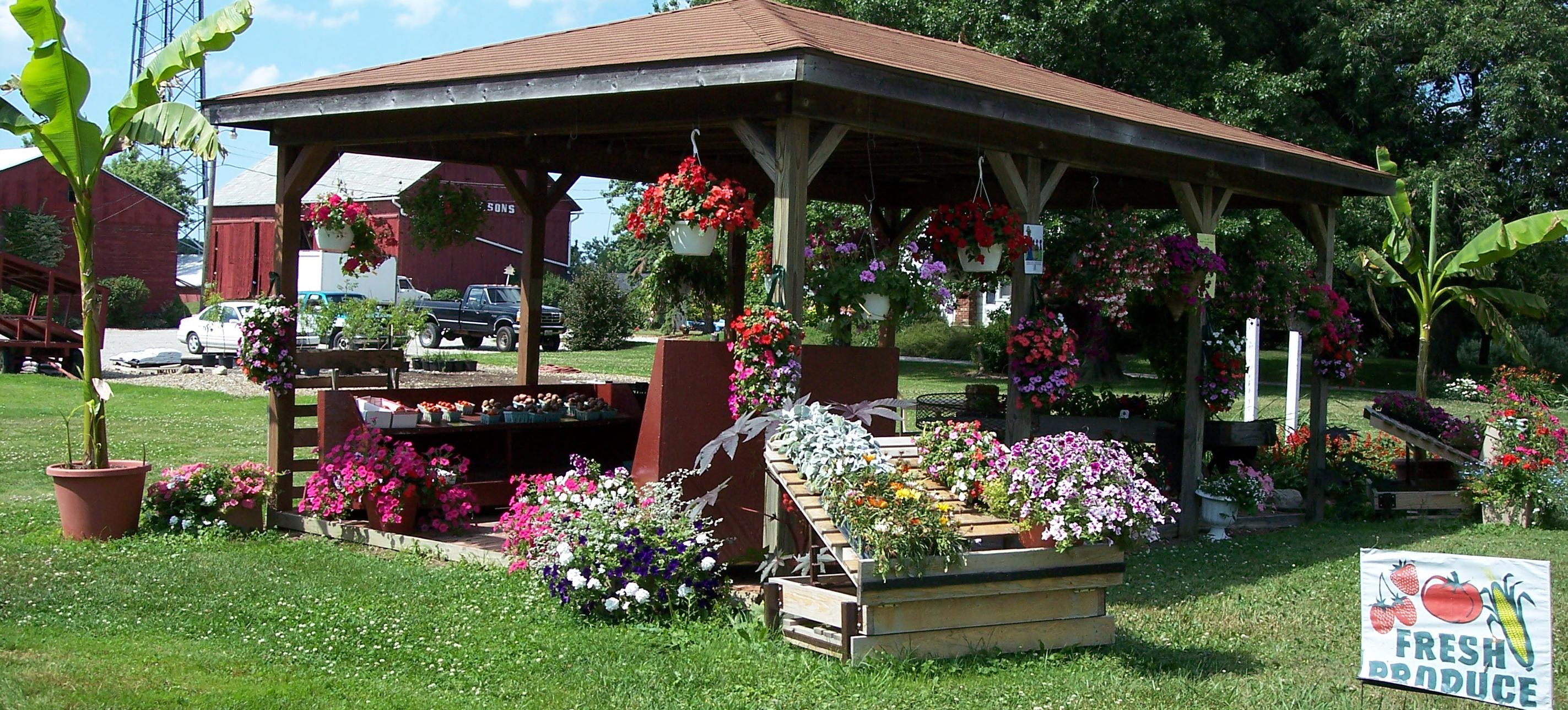 The greenhouse richardson - Richardson Farms Fruit Stand